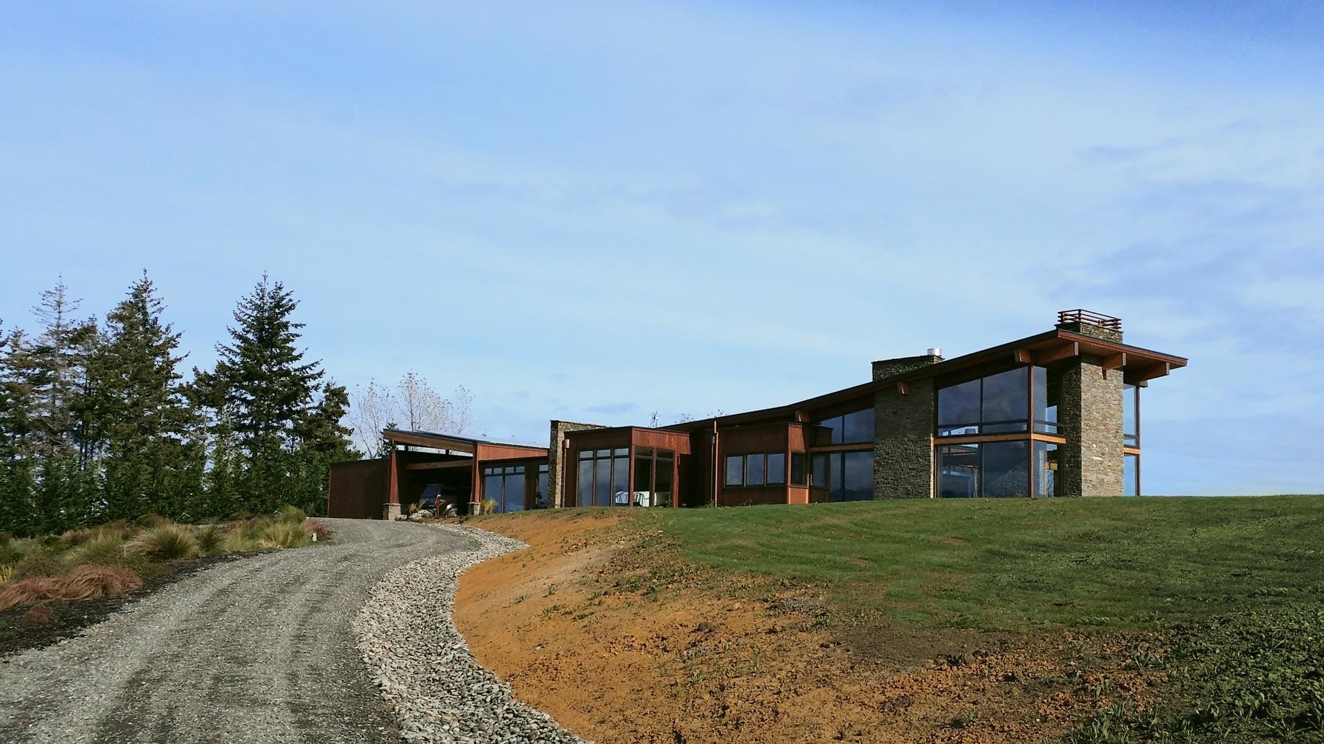 NZ Living Homes - case study Tasman home build