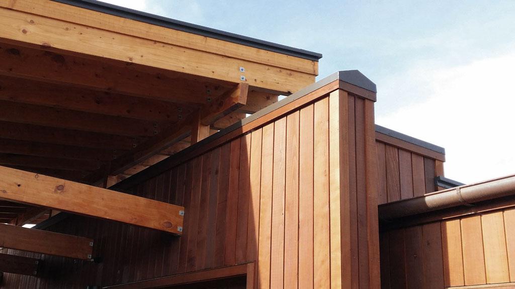 NZ Living Homes - Custom design wood cladding
