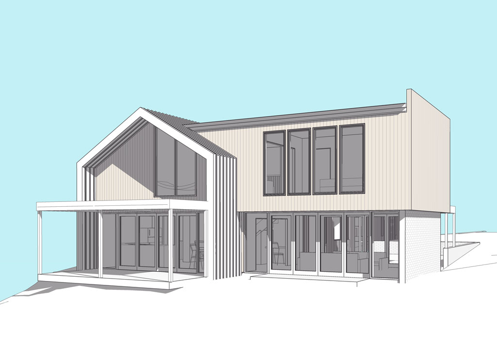Snells Beach Architectural design