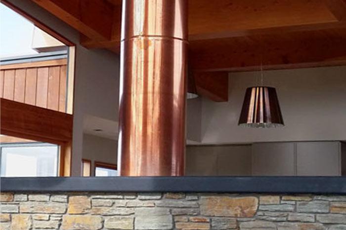 Tasman Custom fireplace