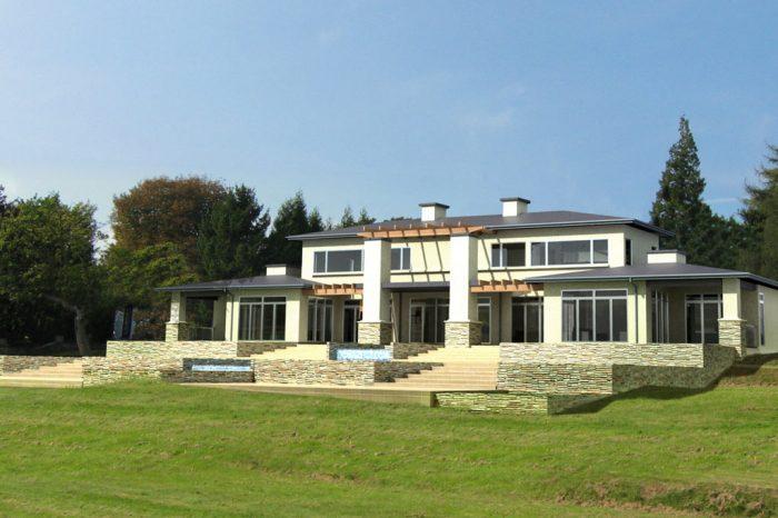 Home custom designed by NZ Living Homes