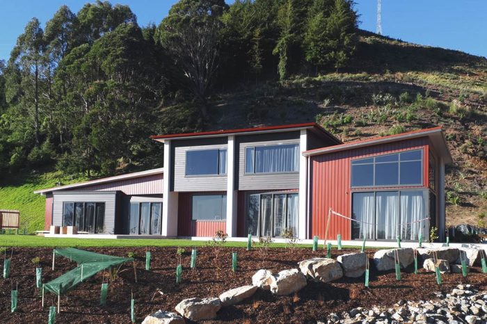Home custom designed and built by NZ Living Homes